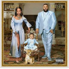 Okay, who did this to Dj Khaled's album cover ? 😂😂😂 #OnoBello #OBCelebrities #Grateful #AlbumCover