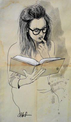 """Saatchi Art Исполнитель Loui Jover;  Рисование, """"Книга"""" #art"""