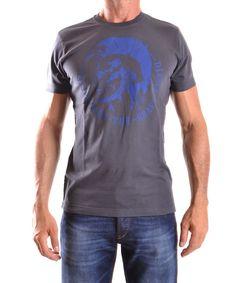 DIESEL Diesel Men'S Mcbi326005O Black Cotton T-Shirt'. #diesel #cloth #t-shirts