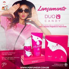 O Duo Belle é um kit de Hidratante + Perfume com a mesma fragrância  importada inspirada no Prada Candy. Com esse produto é impossível errar no  ... c91e22dddb