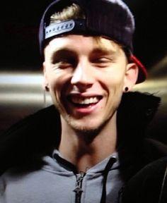Machine Gun Kelly. Love his smile. So much <3