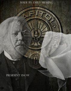 President Snow on Pinterest | President Snow, Mockingjay ...