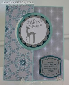 GIft card holder  Best of Christmas stamp set, Circle card thinlits die, Envelops Punch board