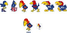 I think I like the first Jayhawk the best.