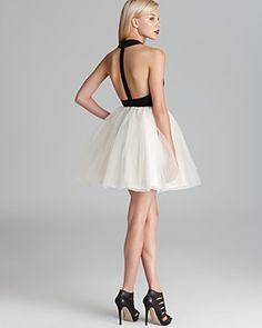 Alice + Olivia Dress - Ginnifer Leather T-Back | Bloomingdale's ❤❤
