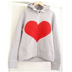 Put a heart on your favorite hoodie with this easy tutorial.