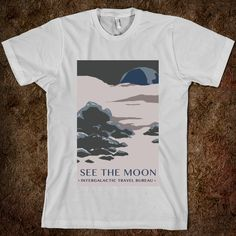 Space Travel - The Moon - Science for Scientists - Skreened T-shirts, Organic Shirts, Hoodies, Kids Tees, Baby One-Pieces and Tote Bags Custom T-Shirts, Organic Shirts, Hoodies, Novelty Gifts, Kids Apparel, Baby One-Pieces | Skreened - Ethical Custom Apparel