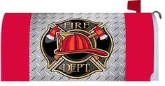 IAmEricas Flags - Proud Firefighter Mailbox Cover, $22.00 (http://www.iamericasflags.com/products/proud-firefighter-mailbox-cover.html)
