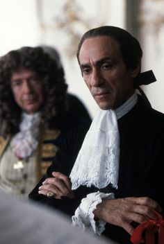"""Murray Abraham as Antonio Salieri in Amadeus. The film is fictitious, but Salieri was truly rumored to have poisoned Mozart for years. Abraham's portrayal of the jealous """"mediocrity"""" was so great, you liked the unlikeable. The Best Films, Great Films, Good Movies, Love Movie, Movie Tv, Antonio Salieri, Best Actor Oscar, Amadeus Mozart, Music Humor"""