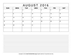 August Calendar  Calendar August  Calendar  August