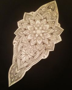 Ideas For Mandala Tattoo Design Pattern