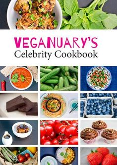 Veganuary Cookbook 2017  This cookbook has been especially created for the participants of Veganuary 2017, and contains a delicious array of celebrity-inspired vegan food. Some recipes have been given to us by the celebrity author. Other recipes are inspired by interviews or articles. Either way, we're confident you're going to love them! Whether you're a health nut, or cooking for a family, or just looking to satisfy a sweet tooth, the Veganuary Celebrity Cookbook 2017 has something for…