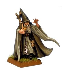 Wizard but is it a Warhammer model, it is on a square base but apparently that is out now at GW land.