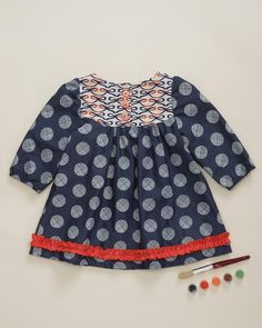 Dotted With A Bow Templeton Tunic
