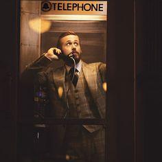 Ryan Gosling Works His Best Edward Hopper - Towleroad Gay News Ryan Thomas, Edward Hopper, Three Piece Suit, 3 Piece, Ryan Gosling, Sharp Dressed Man, Mans World, Hey Girl, Good Looking Men