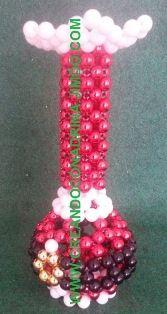 NAVIDAD - CREANDOCONADRIANA Beaded Animals, Beaded Bags, Bead Crafts, Purses And Bags, Beading, Miniatures, Christmas Ornaments, Holiday Decor, Fun