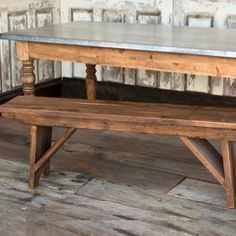 Old Style 5 Foot Pine Bench