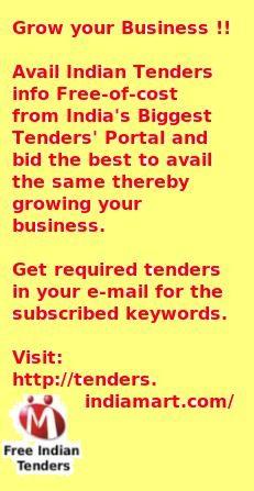 http://tenders.indiamart.com/ biggest online tenders info.