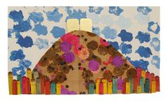 An Artful Mount Sinai: A Great Collage Project For Shavuos! - creative jewish mom