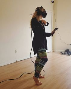 Practicing to film my first video! :) stand by for some 3d art! . . . . #vr #vive #htcvive #virtual #virtualreality #reality #art #htc #videogames #future #technology #invidia #gtx #evga #gamerchick #tiltbrush #steam #valve #crazyleggings #oculus #gear #gearvr #blonde #blond #fun #youtube #entertainment #amazing #thefutureisnow by vr_vincenza - Shop VR at VirtualRealityDen.com