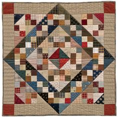 Jacob's Ladder quilt by Country Threads