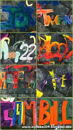 grafitti lesson and rubric