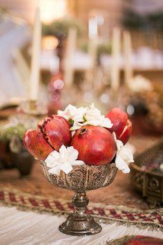 Pomegranates Tarnished Silver Middle Eastern Decor Sabine Scherer Photography