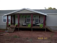 Porch Designs for Mobile Homes | Pinterest | Porch, Flat roof and ...