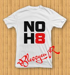 NOH8 Campaign T Shirt for men and women size S3XL by BlessgeaR, $16.98