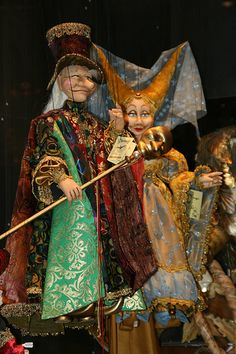 In Italy, particularly in Venice, the marionette enjoyed enormous popularity | Flickr - Photo Sharing!