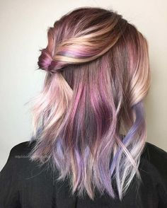50 Unique Hair Color Ideas for Here we come to the new year which is the best time to switch up your look. After one more year, 2019 deserves new you, right? If you're looking …, Hair Color – Tepe Time Brown Ombre Hair, Ombre Hair Color, Hair Color Balayage, Cool Hair Color, Brown Hair Colors, Unique Hair Color, Unique Hair Cuts, Color Streaks, At Home Hair Color