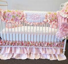 Custom Baby Bedding Polka Tot Designs design your own crib set, nursery, bedding & curtains. Custom Baby Bedding, Bed Curtains, Crib Skirts, Project Nursery, Cottage Chic, Design Your Own, Cribs, Shabby Chic, Pillows
