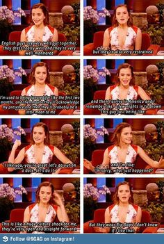 Emma Watson on boys
