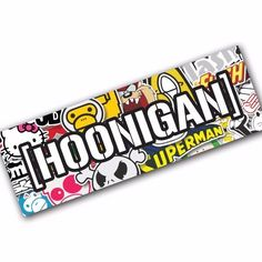 HOONIGAN SB1 Sticker Bomb Decal Car Macbook Laptop Funny Ken Block JDM Banner #UnbrandedGeneric