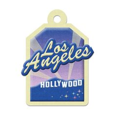We R Memory Keepers - Destination Collection - Embossed Tags - Los Angeles at Scrapbook.com $0.49
