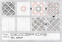 Decobricks - tangle pattern | Flickr - Photo Sharing!