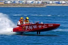 Drag Boat. Loved they roundy rounds and the K boats!