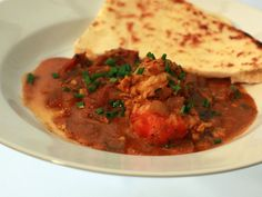 South o' the Border Prawn Masala recipe from Aarti Sequeira via Food Network