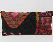 12x24 sofa kilim pillow novelty throw pillow lumbar decorative pillow black outdoor pillow cover floor pillow cover boho pillow sham 26814