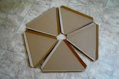 build kids play house with triangles - Google Search