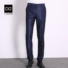 8a9ab0afdf2 Men Suit Pants Trousers Slim fit Dress Pants for Men Suit Formal Pants  Trousers Business Suit Trousers-in Suit Pants from Men s Clothing    Accessories on ...