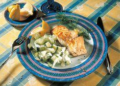 Detox-Diät - Kur 2. Tag: Mittagessen - Rotbarschfilet auf Dillgurken