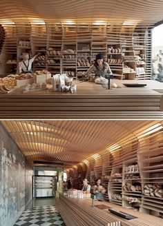 Baker D. Chirico Bakery - Australia's best bakery - Just in case we have time to go to Melbourne Best Bakery, Bakery Cafe, Cafe Restaurant, Restaurant Design, Bakery Shops, Bakery Shop Design, Cafe Design, Store Design, Bakery Interior Design