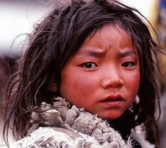 Tibetan People and Culture Tibet, French Twist Updo, Sea Dream, Child Face, People Of The World, Interesting Faces, Beautiful Children, Animals For Kids, Butterflies