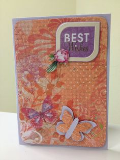 Best wishes - card