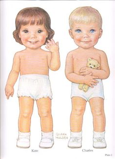 1985 Reproduction of BEST FRIENDS Paper Dolls Publisher: Dover <> Original 1930s by Queen Holden 9 of 16