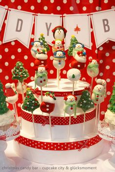 Christmas Candy Bar // Sweet Table (Cupcake City & Café Glücksmoment)