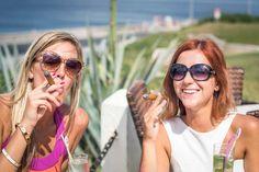 2 girls smoking Cuban cigars in Havana Cuba - Things to do in Havana Cuba