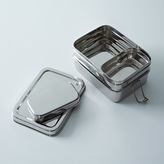stainless steel lunch/bento box (2 layers)