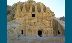 ancient ruins of Petra